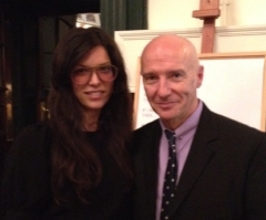 Antoinette and Midge Ure, at Kobo's book launch for Midge's new book, If I Was...
