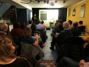 Barry reads from his first novel for adults, UNSOUL'D
