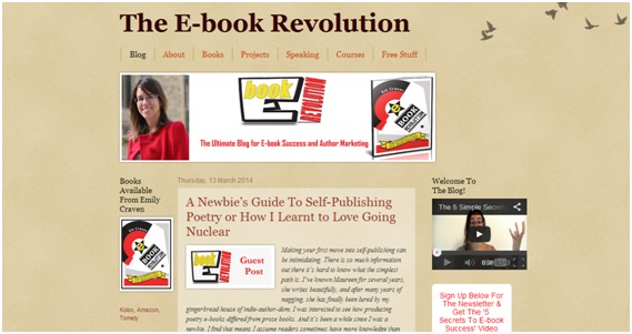 E-book Revolution blog old
