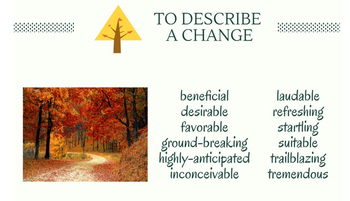 Word Power: Words To Use Instead of Good (A CHANGE) | Kobo Writing ...